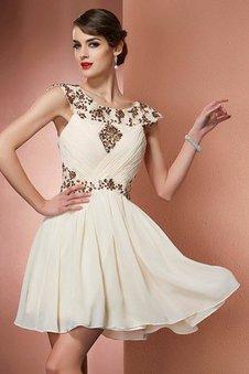 bf19175e4cbece Reißverschluss Prinzessin A-Line Normale Taille Brautjungfernkleid ohne  Ärmeln