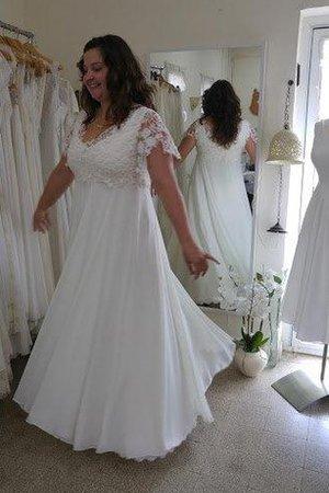 Hochzeitskleider standesamt für mollige